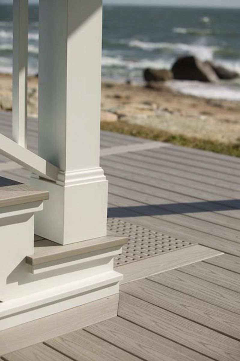 Azek Harvest Collection Slate Gray Deck Squared 20 Schillings 1000 In 2020 Grey Deck Deck Decorating Outdoor Deck