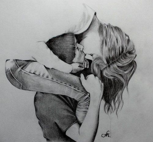 Art Black And White Drawings Love Story Romantic Art Black