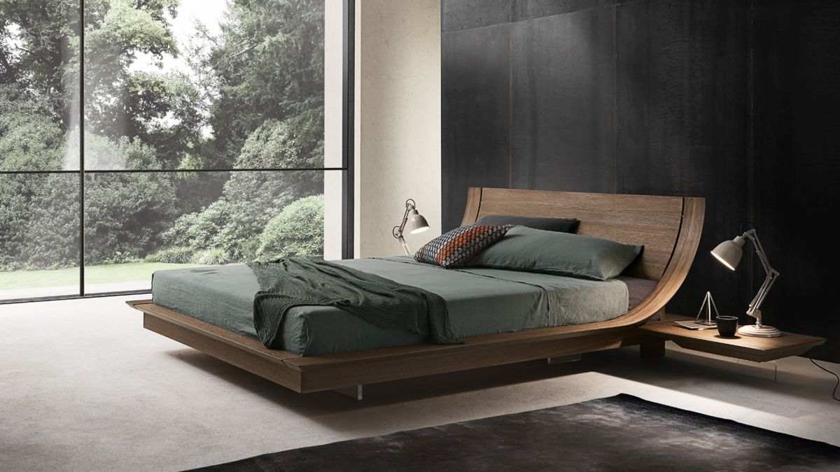Beds on pinterest gardens floating bed and wicker patio furniture - Natural Wood Beds By Ign Design Rustic Knotty Wood Rustic Wood Bed Wood Beds And Bed Design