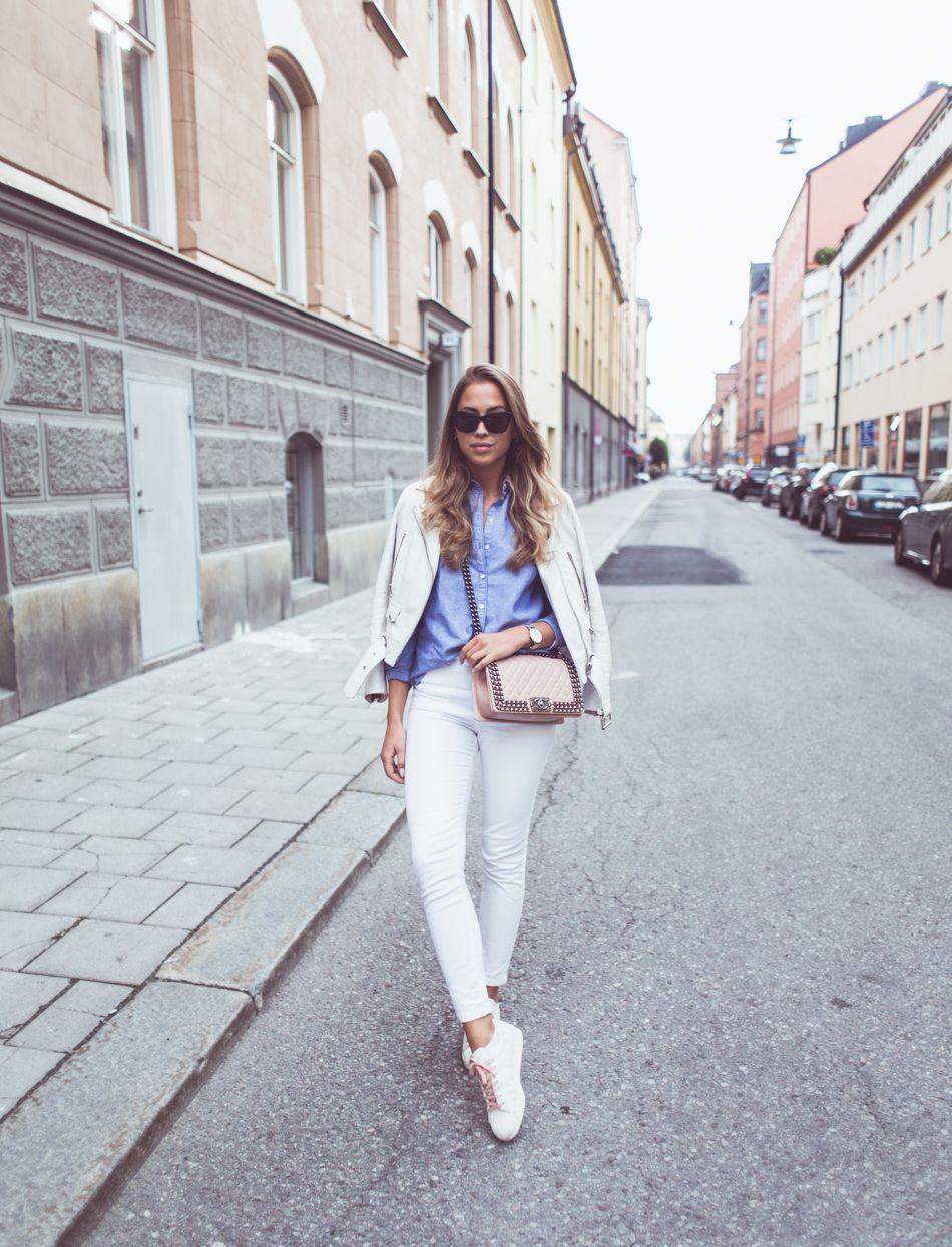 KenzaZouiten_blueshirt 2 | What to wear