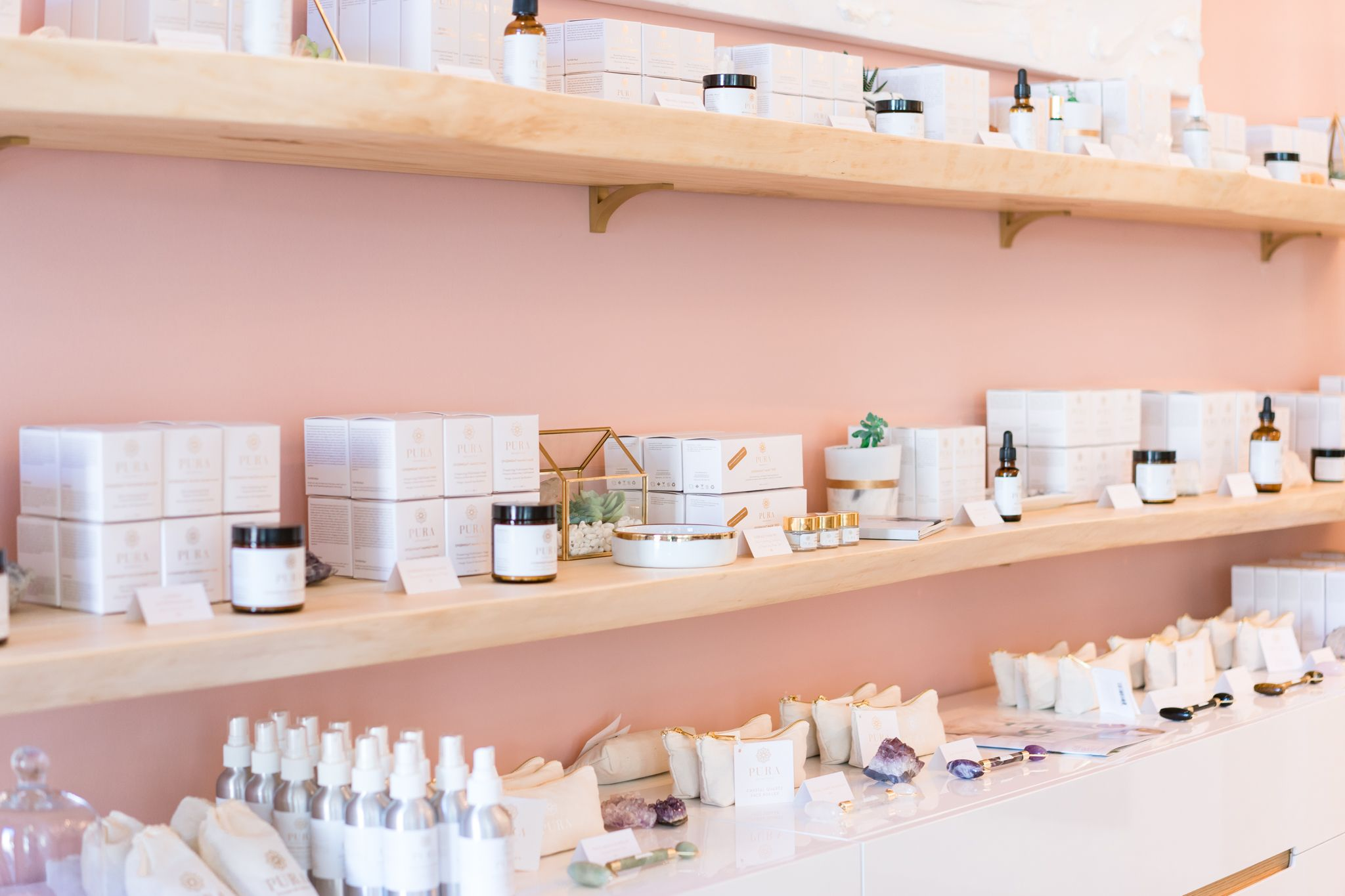 Pura Botanicals + So Pretty Cara Cotter Boutique in