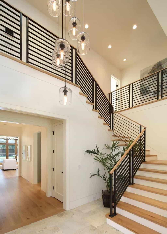Modern House Railings