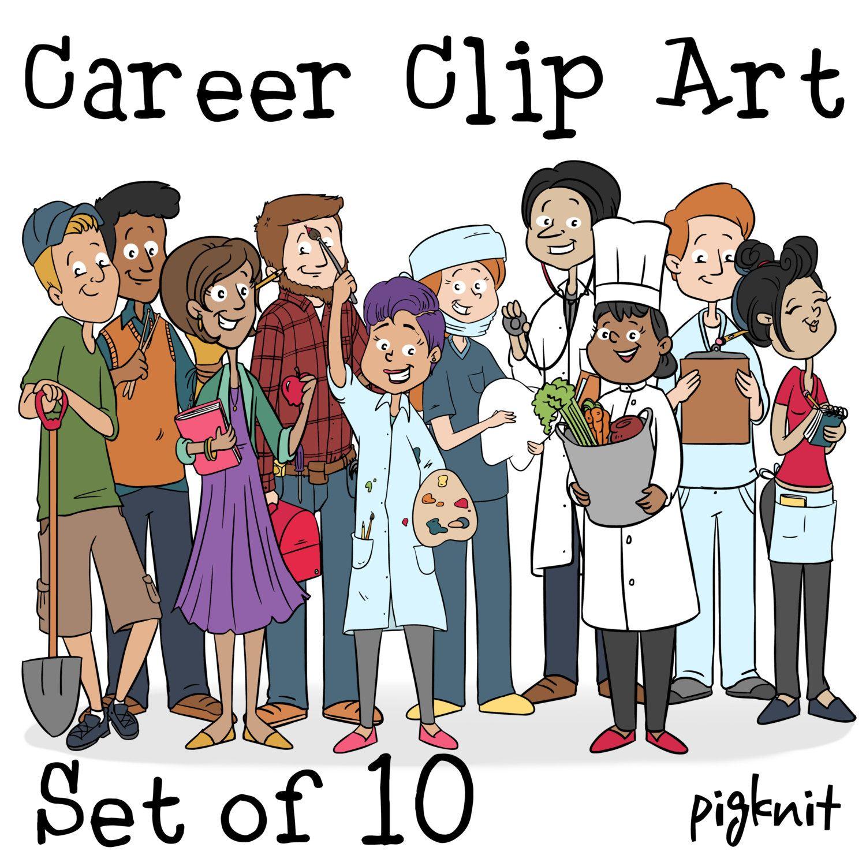 Career Clip Art, Nurse Clipart, Teacher Clip Art, Dentist ...
