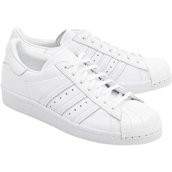 2018e0be207 ADIDAS ORIGINALS Superstar 80S Metal Toe    Sneakers with metal toe...  ( 95) ❤ liked on Polyvore featuring shoes