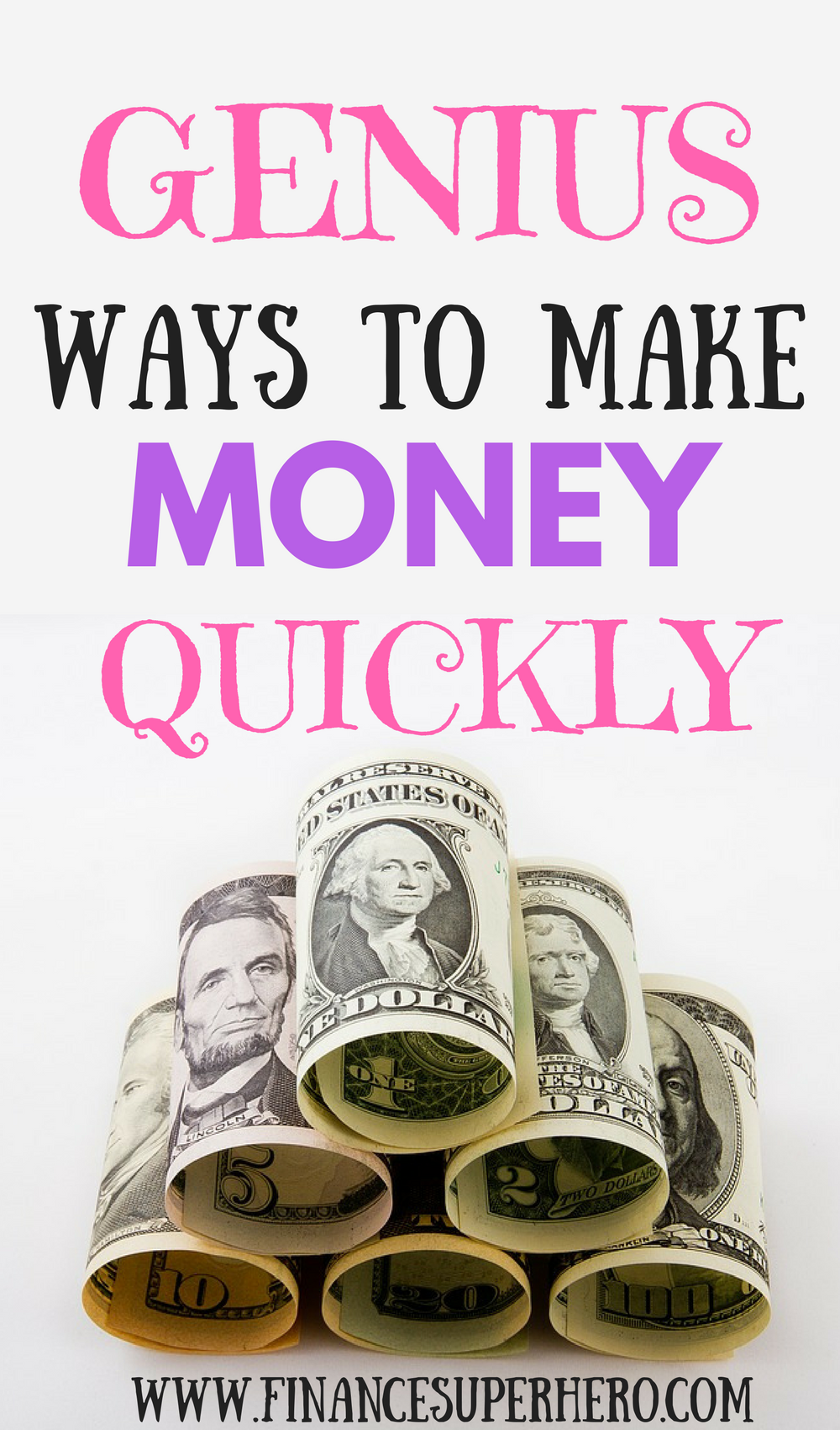 5 Fail-Proof Ways to Make Money Fast | Extra money, Personal finance ...