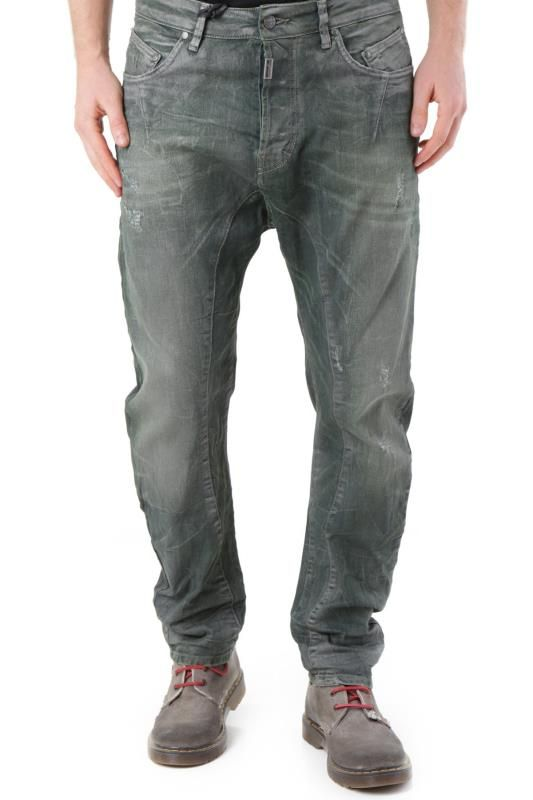 Jeans Uomo Absolut Joy (VI-P2452) colore Verde Scuro