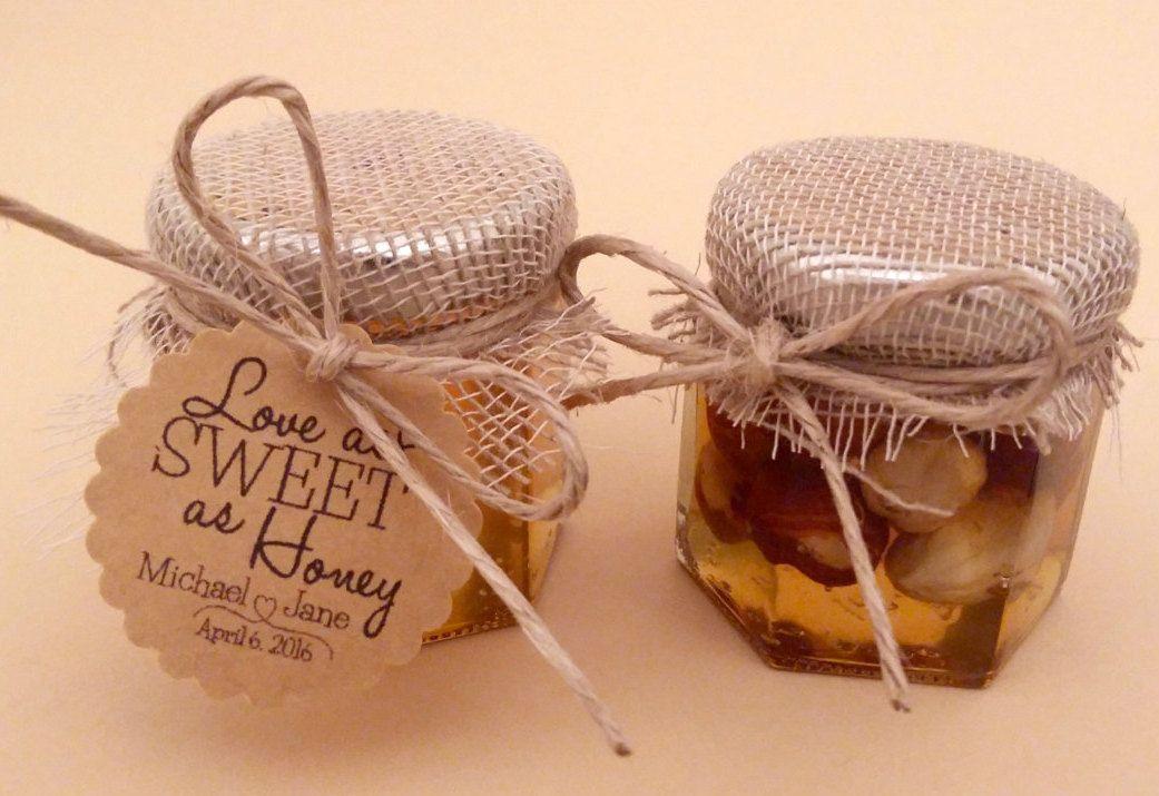Rustic Honey Favorswedding Shower Favorshoney Jar Baby Favors