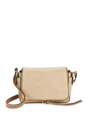 7a359e50ed24 HALSTON HERITAGE Logo Accented Leather Crossbody Bag.  halstonheritage  bags   shoulder bags  leather  crossbody