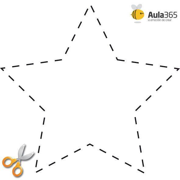8f83c241d44e357b6f3d17f53d538949 Jpg 591 591 Moldes De Estrellas Estrellas Para Imprimir Estrella De Navidad Manualidades