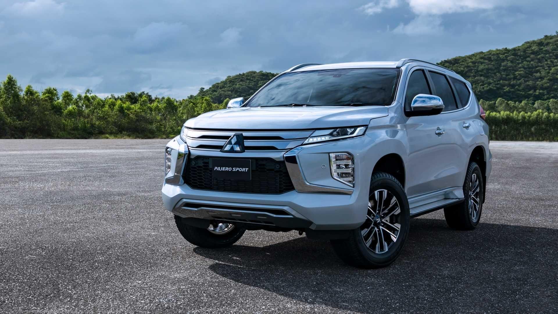Along with the makeup operation, Mitsubishi Pajero Sport