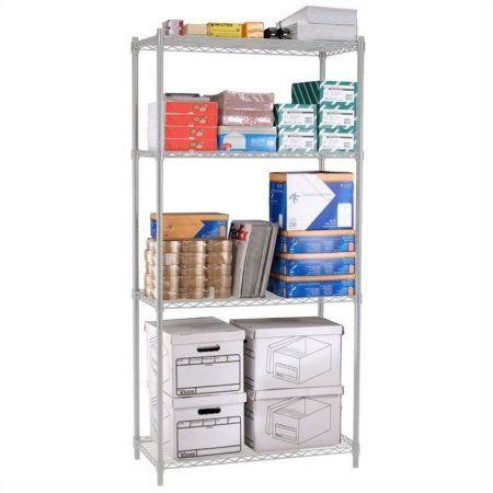 Home Improvement Shelves Wire Shelving Wire Shelving Units