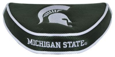 Team Effort NCAA Golf Mallet Putter Cover - Michigan State University