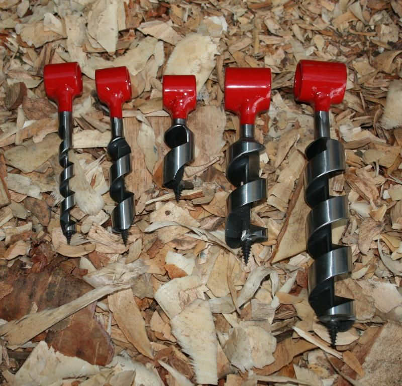 Bushcraft Survival Skills: Pocket Augers! I Like Processing Wood And With These I