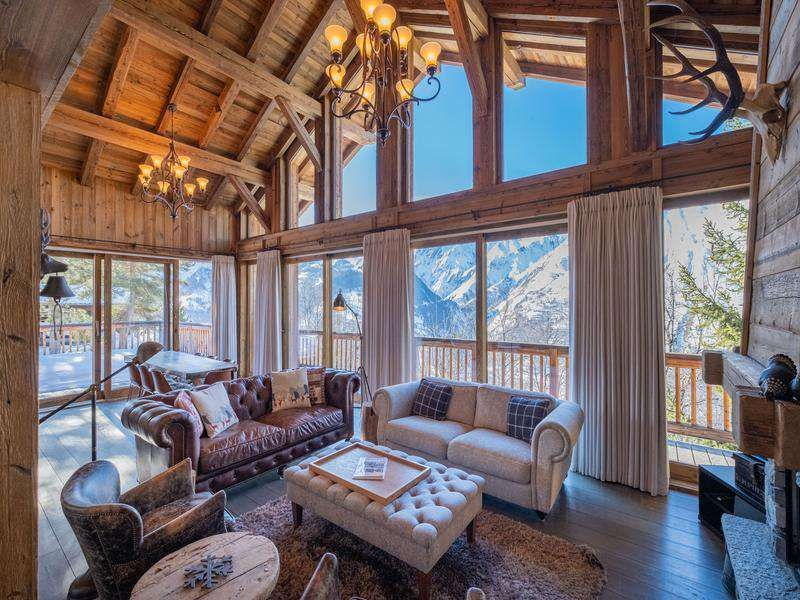 5 Bedroom Ski Chalet For With 1