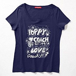 POPPY ROCKER PATCH TEE