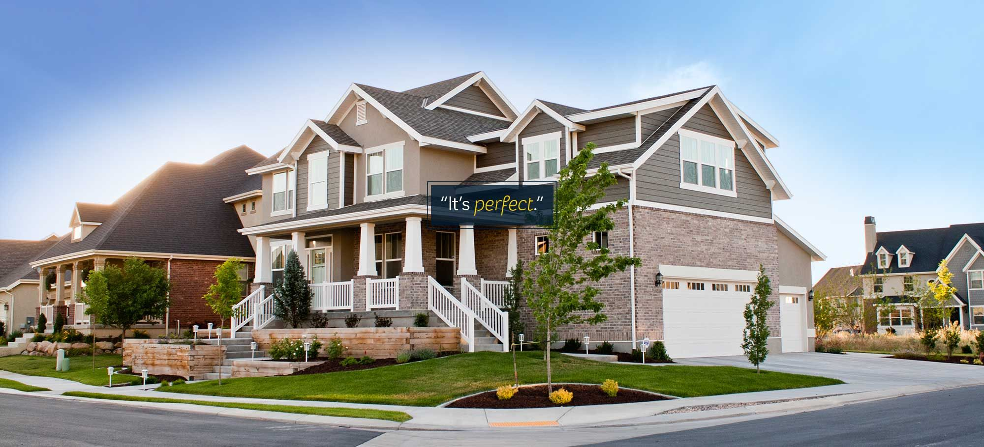 Summit Construction Builds Beautiful Custom Homes In Utah We Provide Exceptional Value In Each Custom H Utah Home Builders New Homes For Sale Building A House