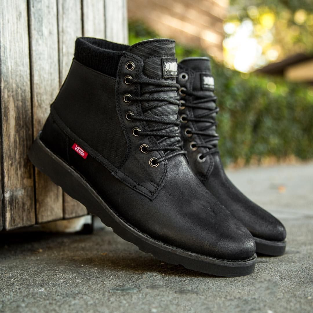 "BAIT Inc. on Instagram: ""Vans Men's Breton Boot SE in black and bomber"