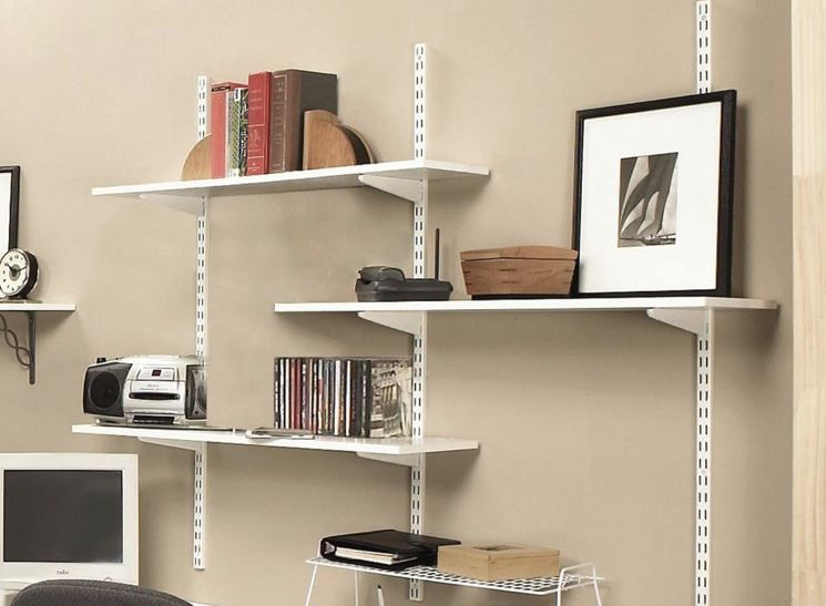 Home Depot Shelf In White In 2020 Wall Mounted Shelves Shelving Design White Laminate