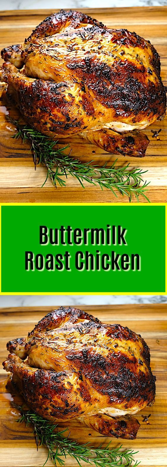 Buttermilk Roast Chicken Recipe Poultry Recipes Recipes Chicken Recipes