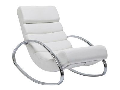 Fauteuil Rocking Chair Manhattan Blanc Kare Design Manhattan And Rock - Fauteuil rocking chair design