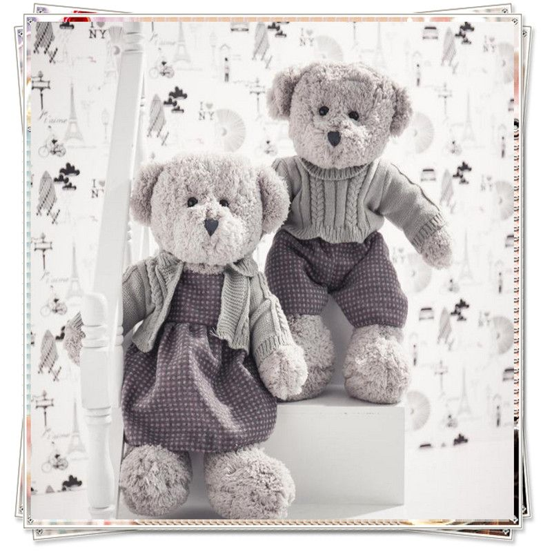 Life Size Teddy Bear Ty Plush Bear Spongebob Kids Toys Valentine Day Gifts  Couples Teddy Kawaii