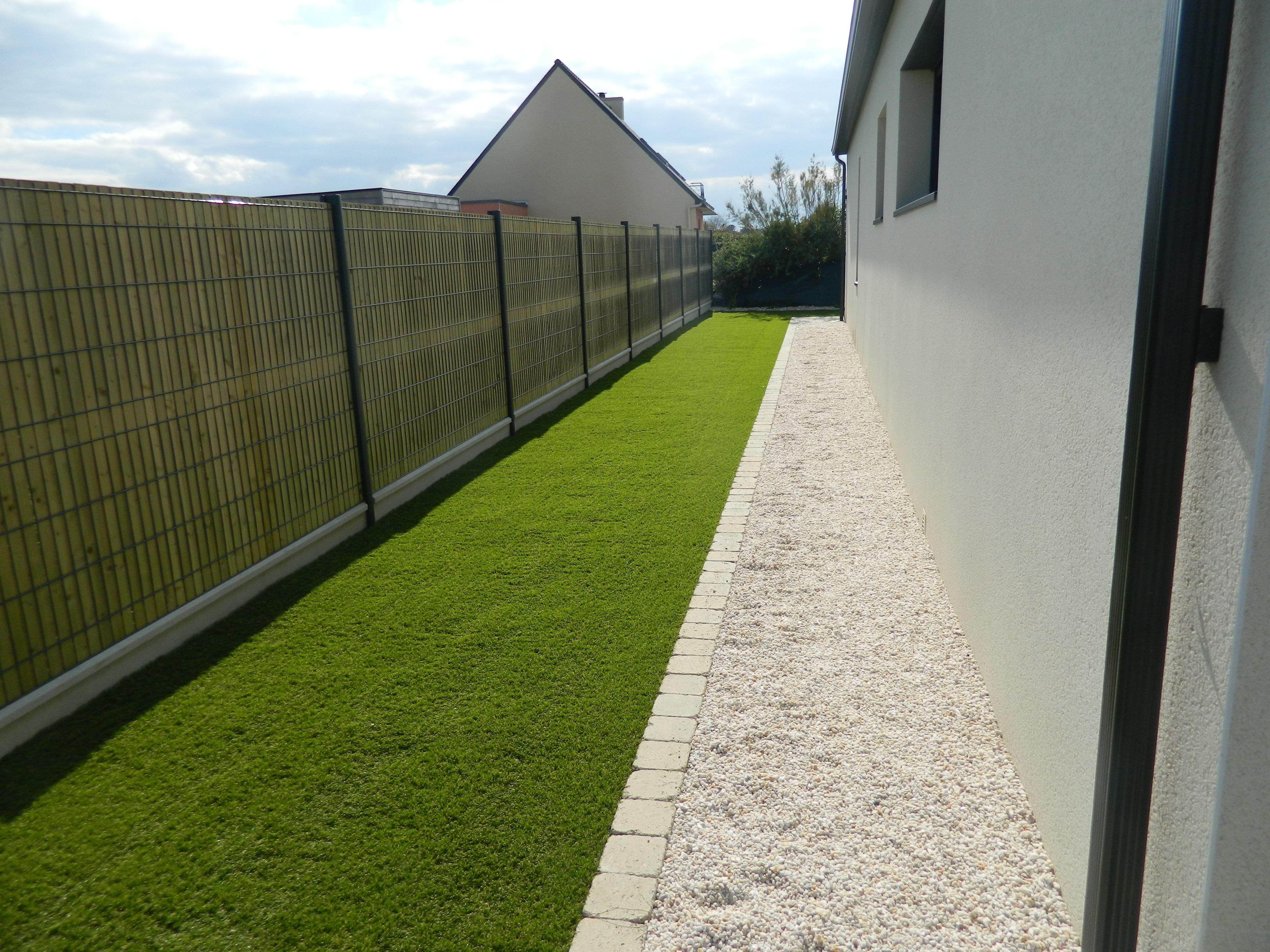 Jardins Et Clotures D Armor clôture grillage rigide occultation en bois pin traité cl4