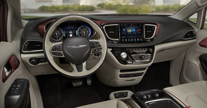 2019 Chrysler Pacifica Hybrid Concept And Specs Rumor Dengan Gambar