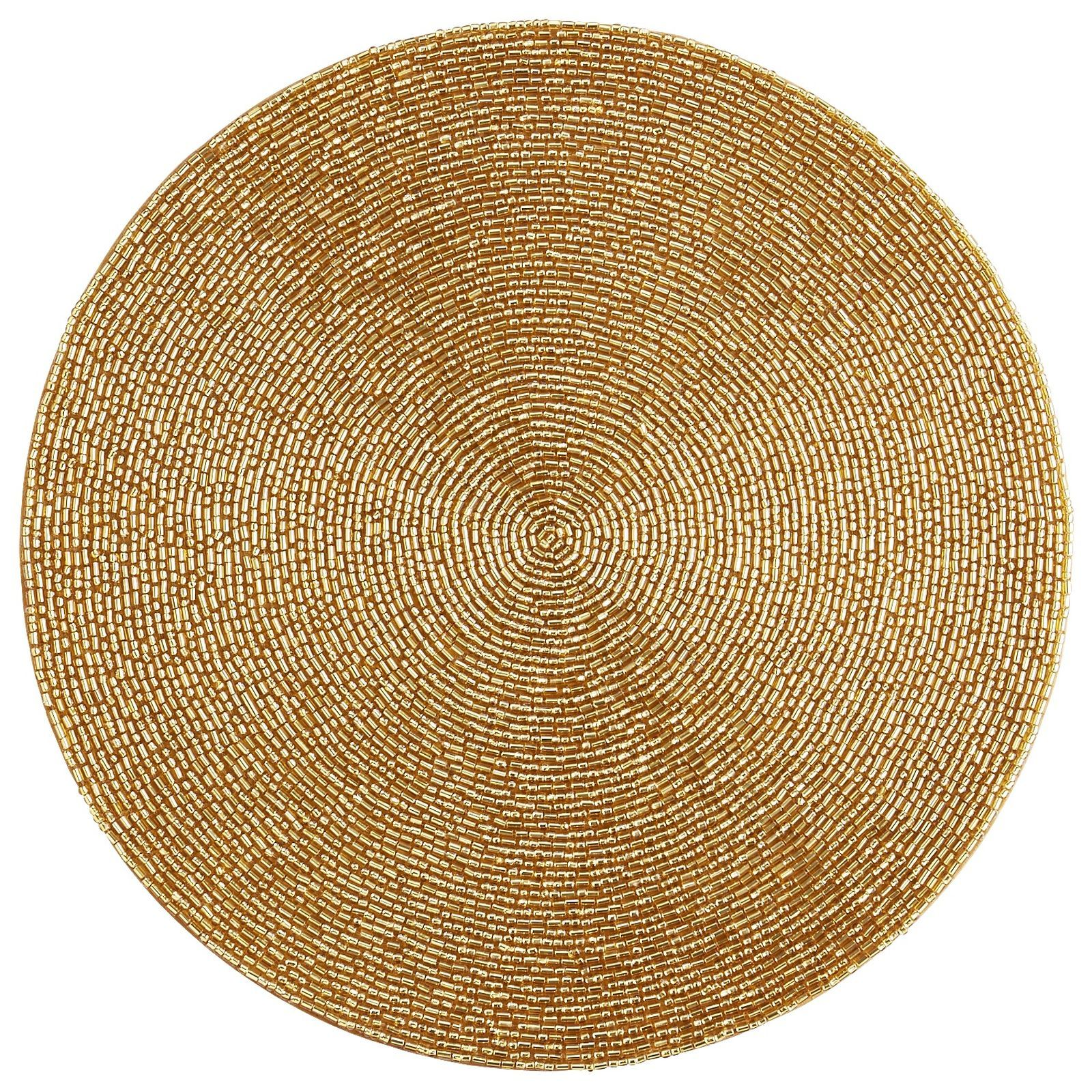 Beaded Placemat Gold Placemats Gold Placemats Linen Placemats