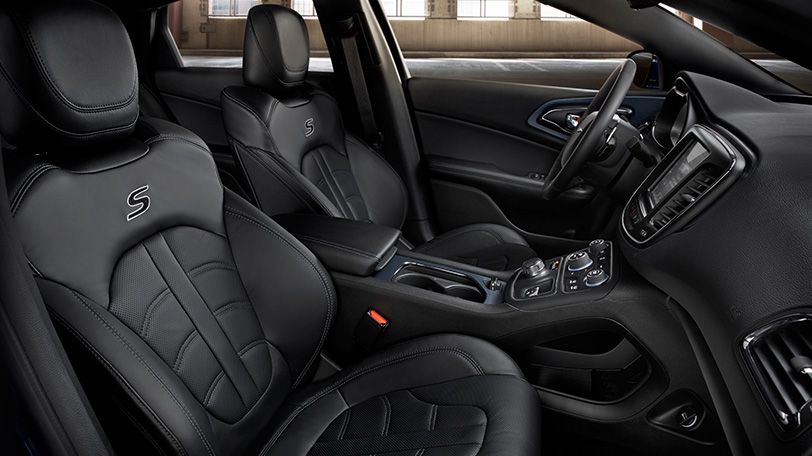 The Leather Group Available On The All New 2015 Chrysler 200s