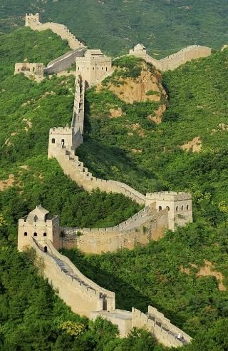 tales about seeing the great wall of china from space are on great wall of china id=59627