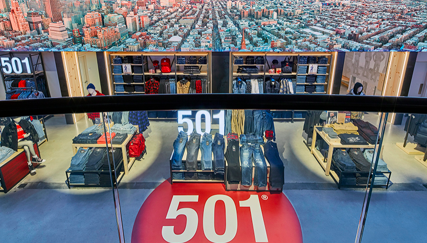 The World's Largest Levi's Store | MiND | Levis store ...