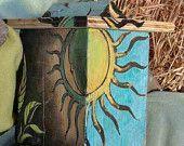 Artisanal Mason Bees' nest/hive. Awesome!