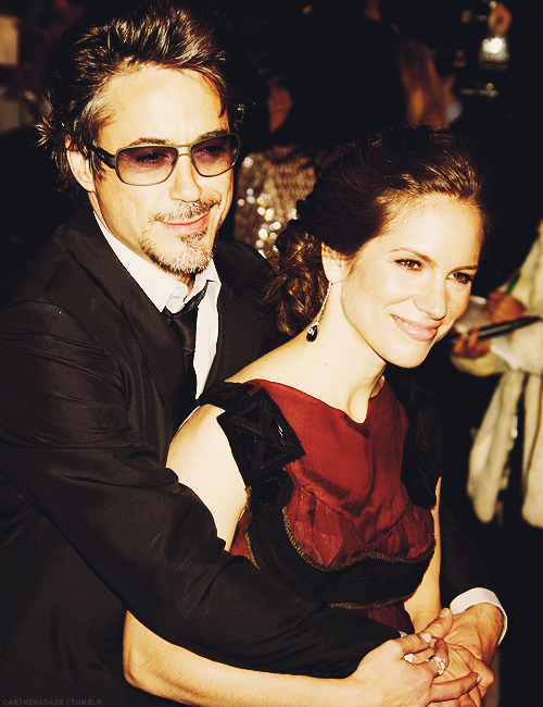 "Robert Downey Jr. and Susan Downey""I got you babe"""