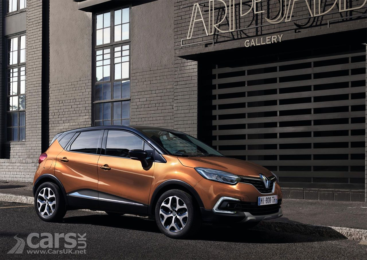 Renault Captur Facelift Costs From 15 355 As Renault S Refreshed