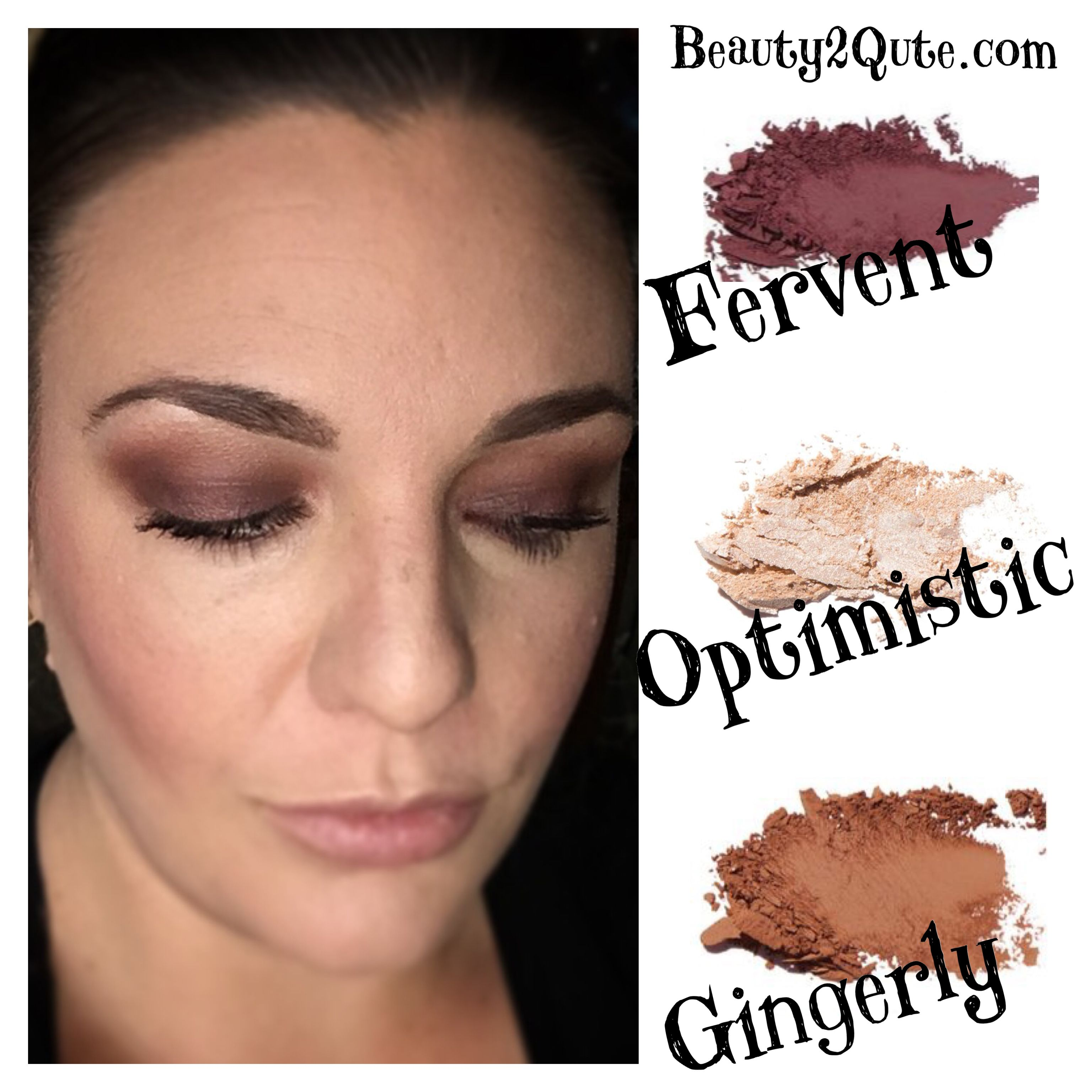 Younique pressed shadows Fervent gingerly optimistic beauty2qute.com #youniquepressedshadows