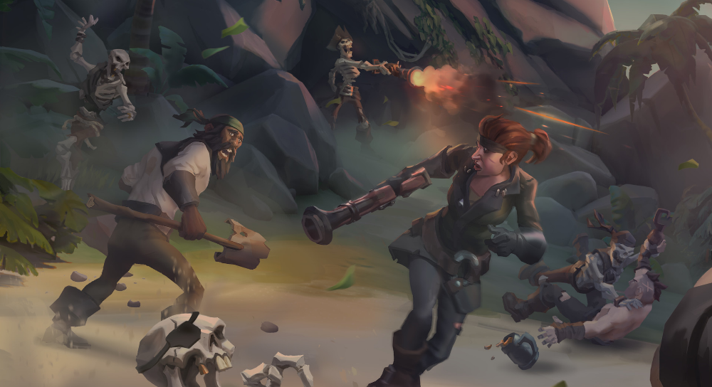Sea of Thieves 100 Concept Art Collection in 2020