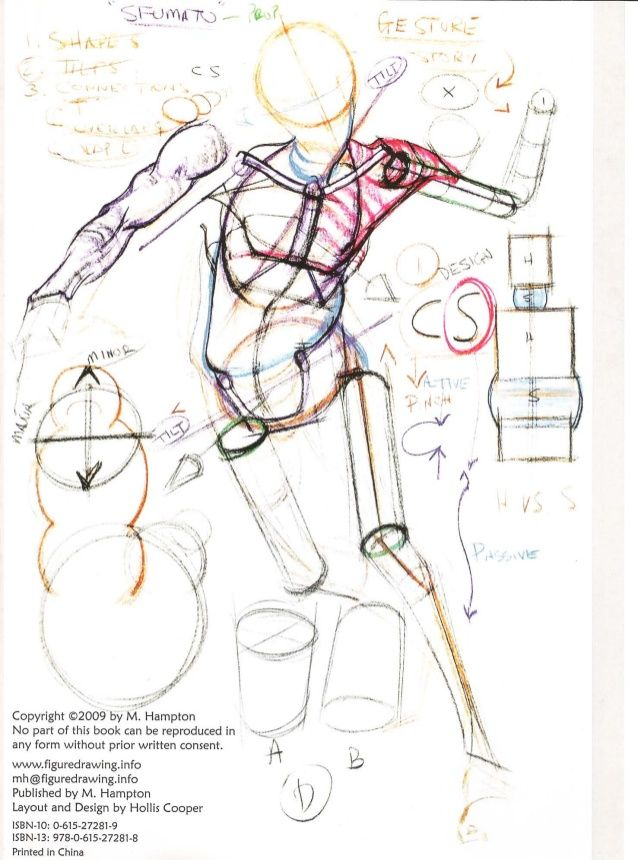 Michael hampton figure drawing - design and invention | фигура ...