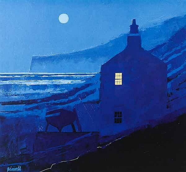 Smuggler's Moon ~ by George Birrell, Scottish Artist