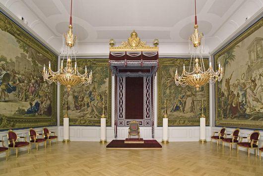 Innenarchitektur Mannheim thronsaal im kaiserlichen quartier schloss mannheim interior