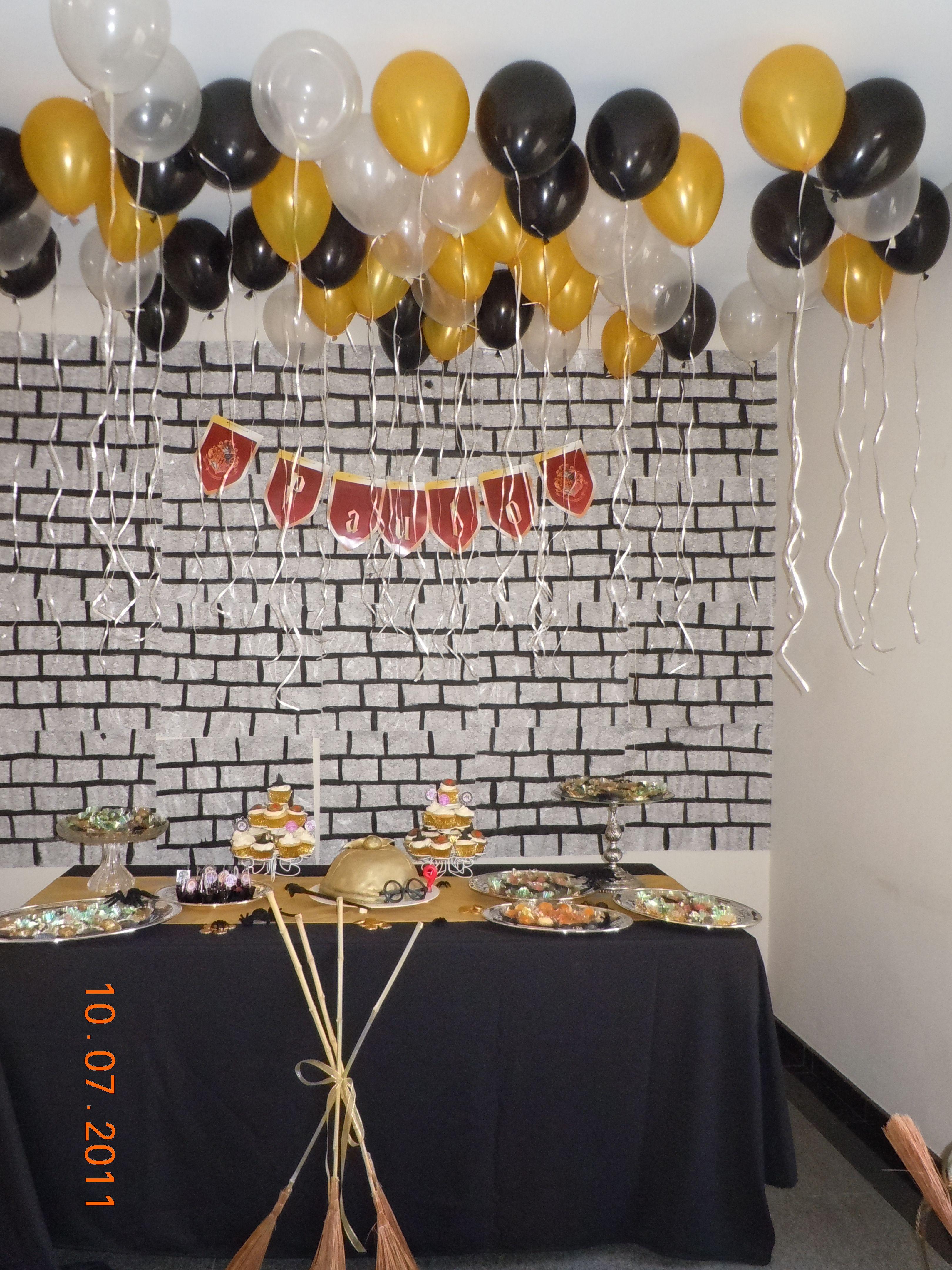 Harry Poter theme birthday partie