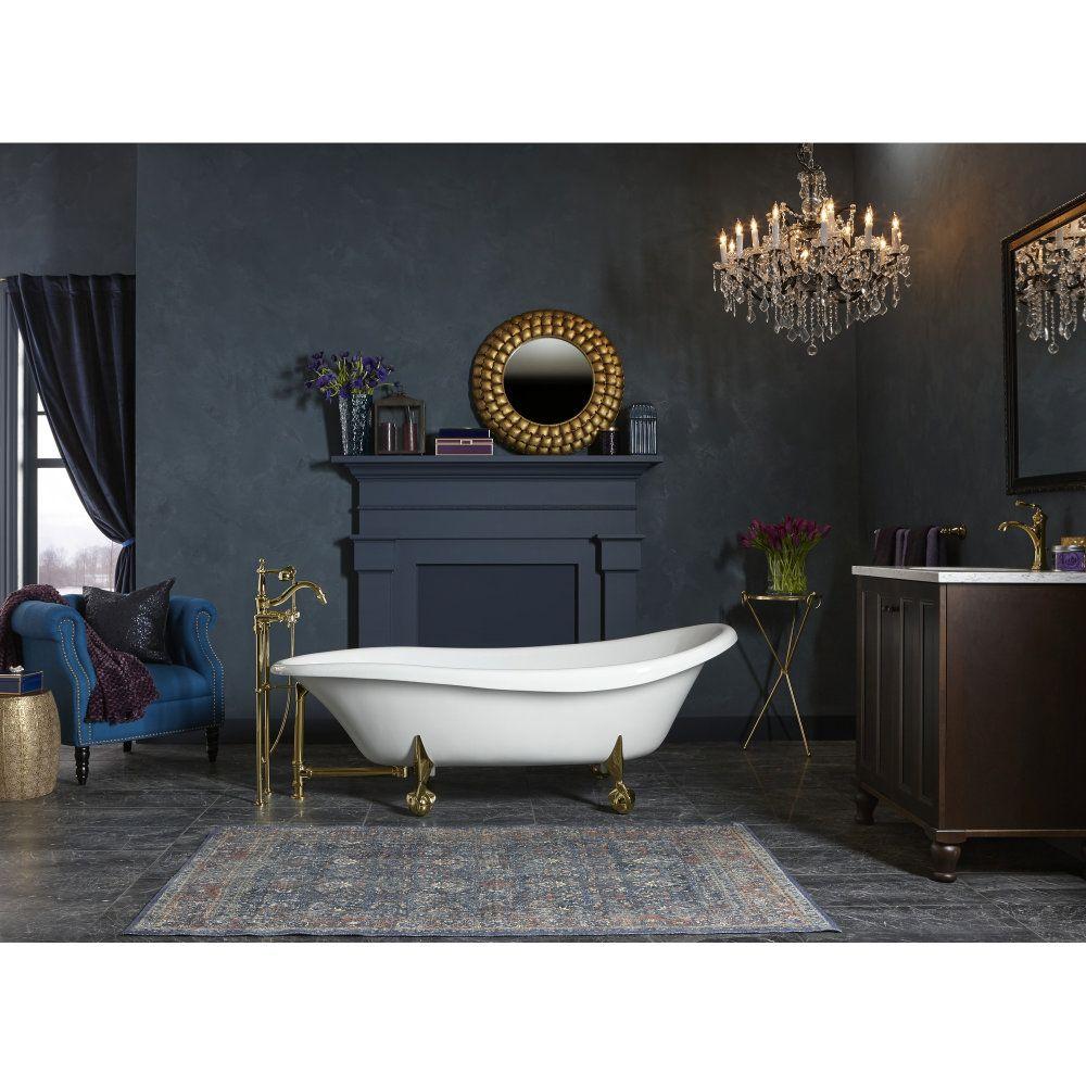 Kohler K 100 0 Claw Foot Bath Dream Bathrooms Bathtub