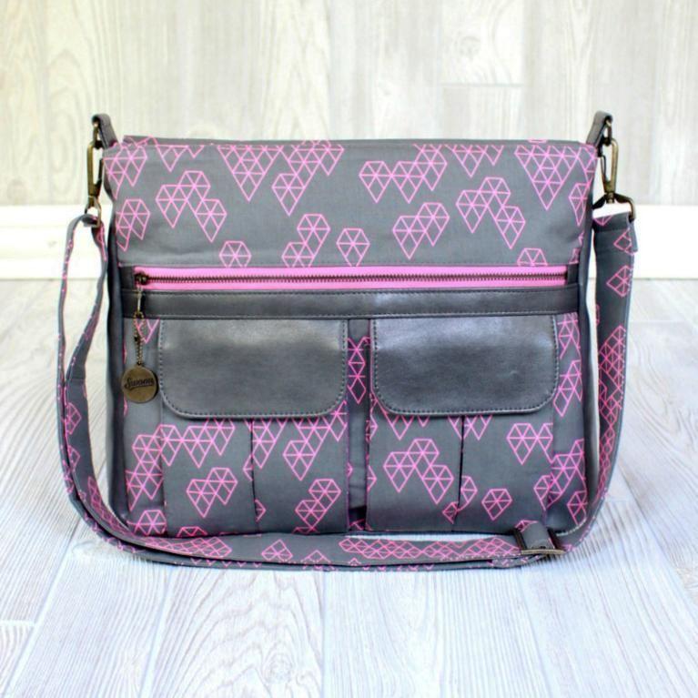 Swoon Sydney Crossbody Bag | Nähen
