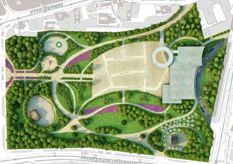 Landshaftnyj Dizajn Landshaft Park