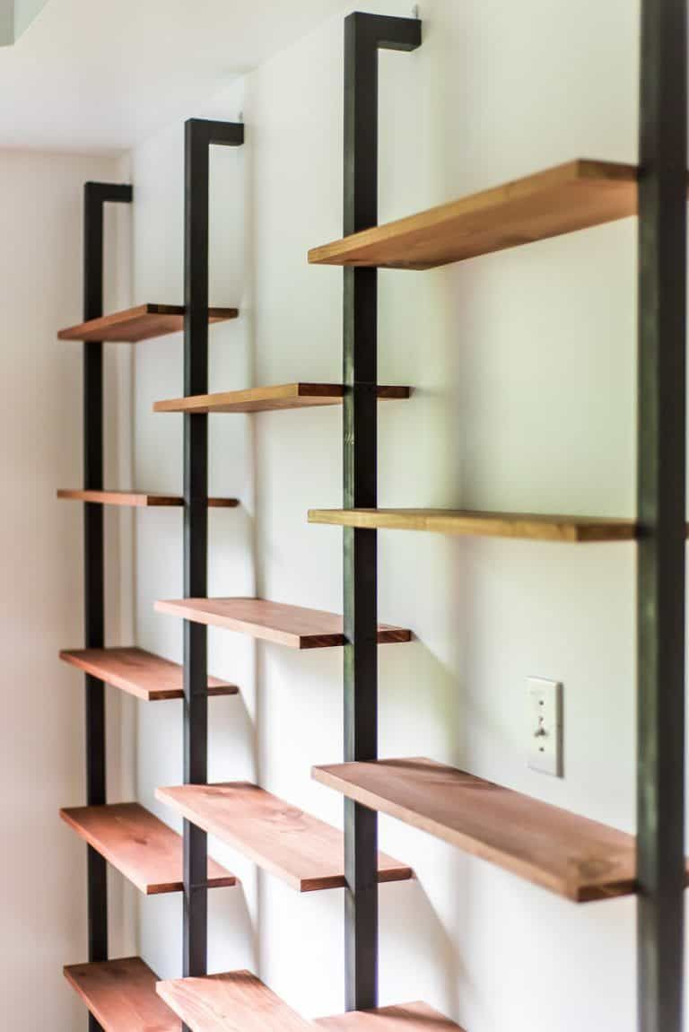 Photo of ONE ROOM CHALLENGE WEEK 4 | DIY WALL SHELVING  BAR WALL – PLACE OF MY TASTE