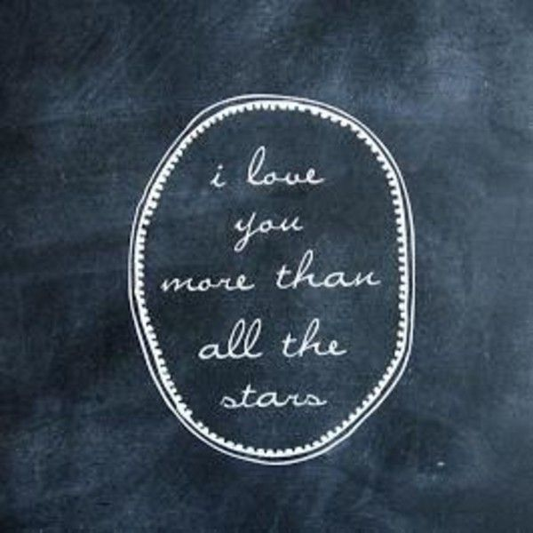 Love You More Than All The Stars Wall Decal (£27) ❤ liked on Polyvore featuring home, home decor, wall art, star wall decals, star wall stickers, star wall art and star home decor