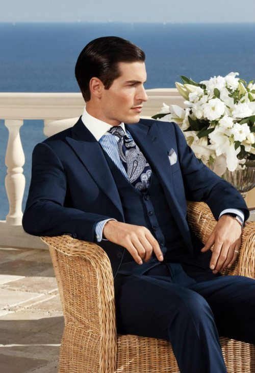 wholesale dealer 33e06 20cbd Risultati immagini per ralph lauren men suit tie | Trajes ...
