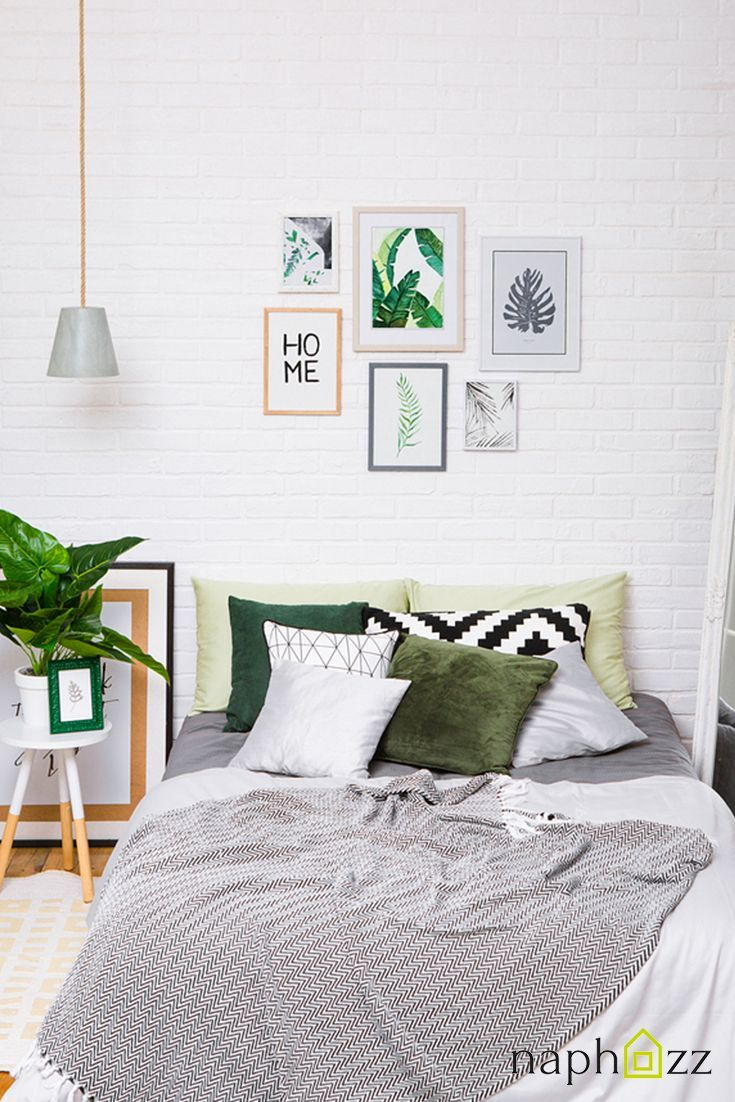 12 impressive green color bedrooms to make your room