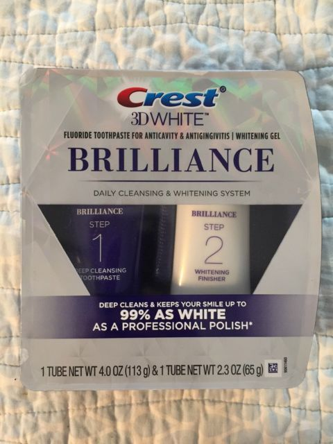 Crest 3D White Brilliance Toothpaste, Teeth Whitening and Deep Cleansing | eBay