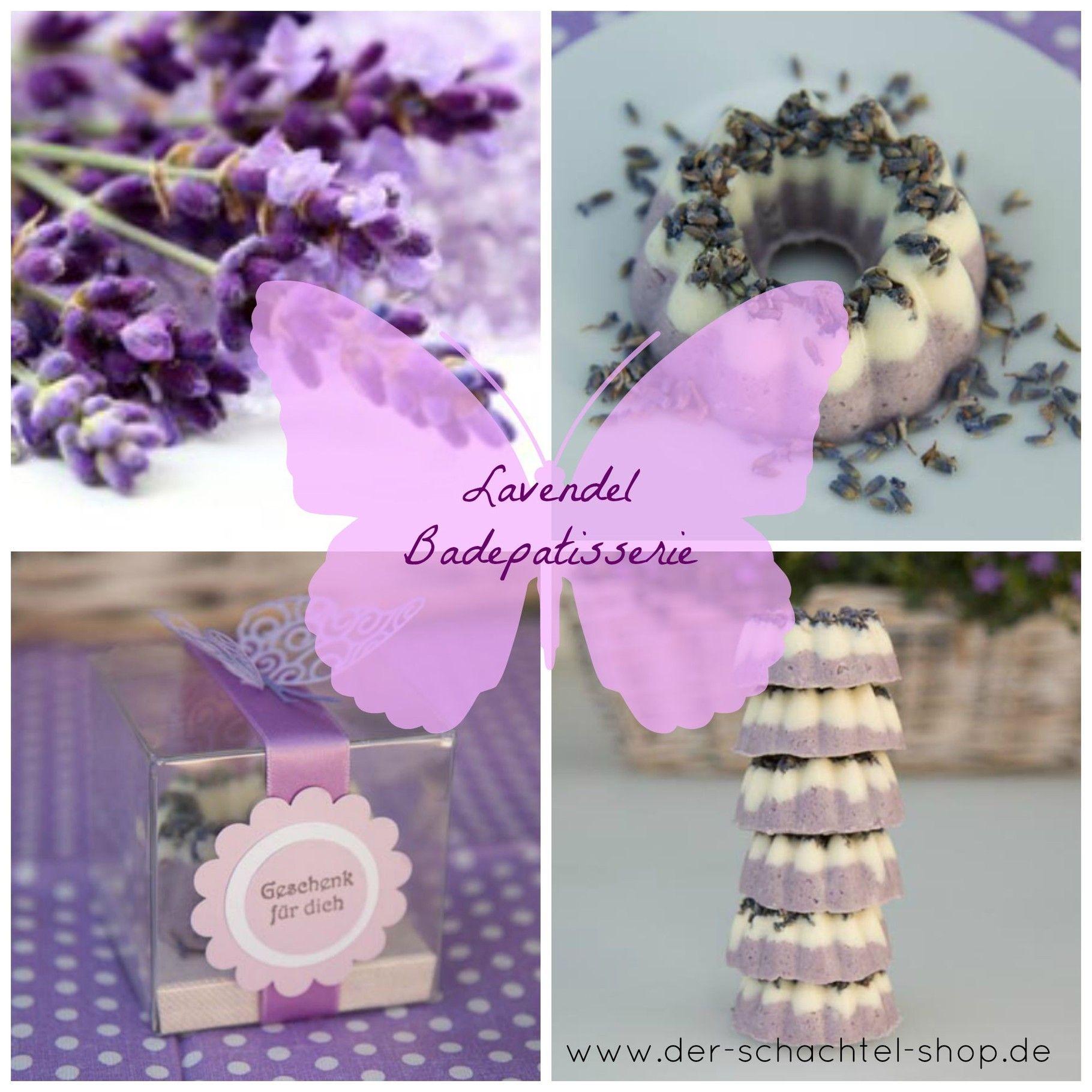 DIY Lavendel Badepatisserie