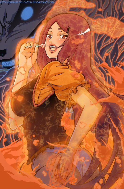 Kushina uzumaki | Anime naruto, Art, Anime Naruto X Fem Kyuubi X Kushina